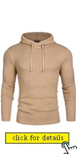 COOFANDY Menamp;#39;s Slim Fit Turtleneck Sweater