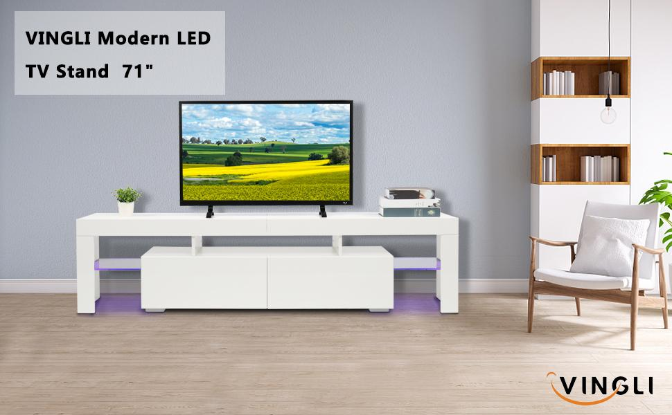 led tv stand