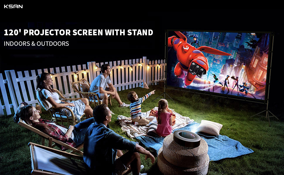projector screen pull down