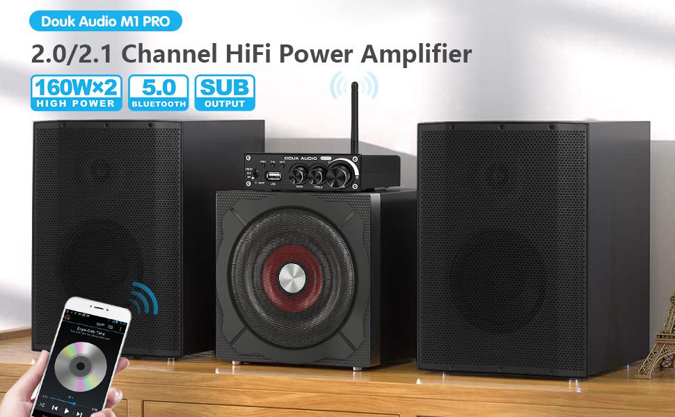 m1 pro bluetooth amplifier