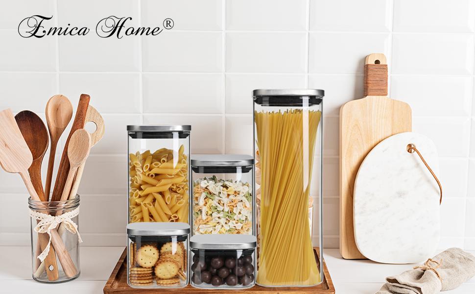 Glass Storage Jars for your Kitchen Corner