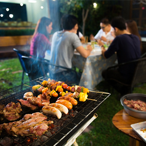 BBQ Meat Thermometer  Smart Wireless Food Cooking For The Oven, Grill, Kitchen Bluetooth smoker