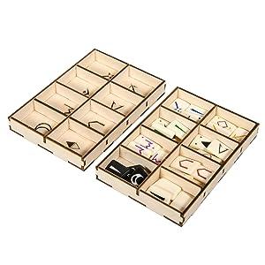 token trays