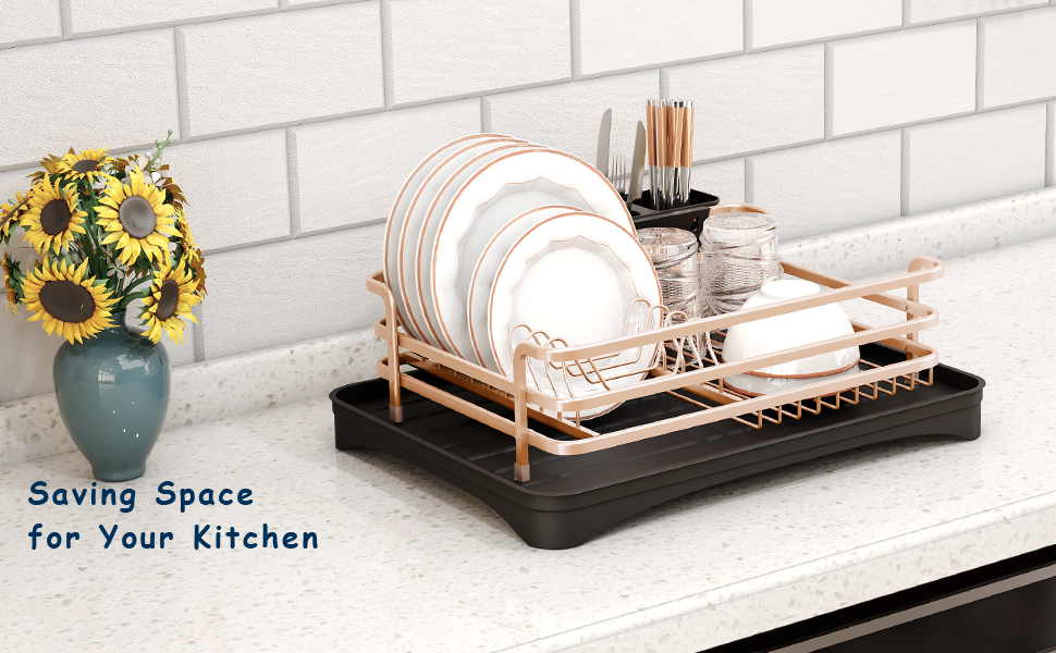 kitchen aid dish drying track