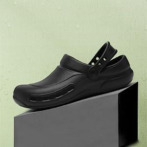 Kitchen Shoes Safety Outdoor Work for Gardener Man Nursing Shoes