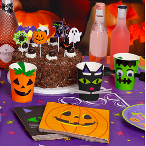 Halloween party supplies kit