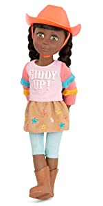 Jolie 14-inch doll glitter girls accessories clothes posable pink diverse toy rainbow high american