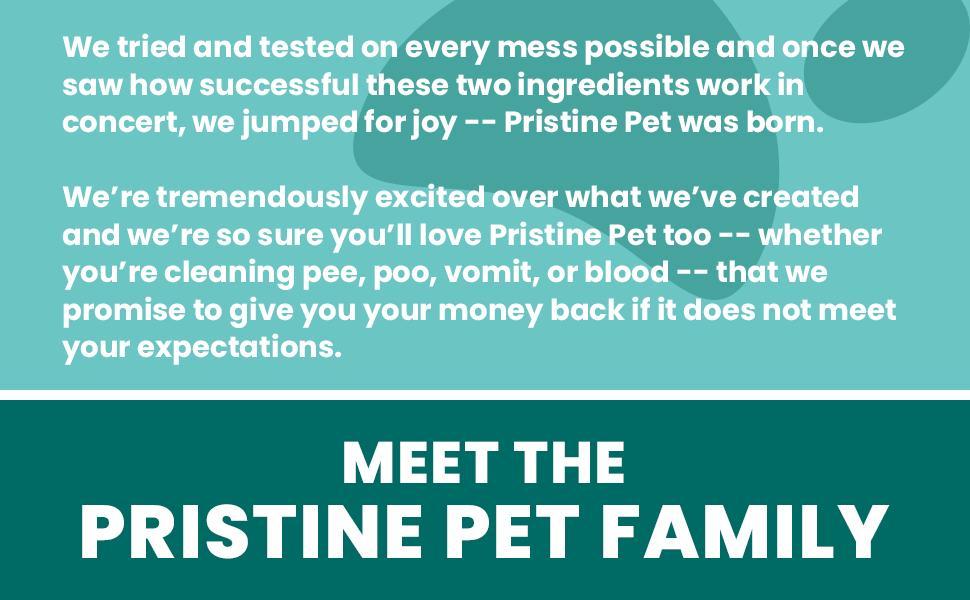 Pristine Pet Family
