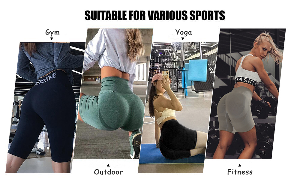 workout women shorts