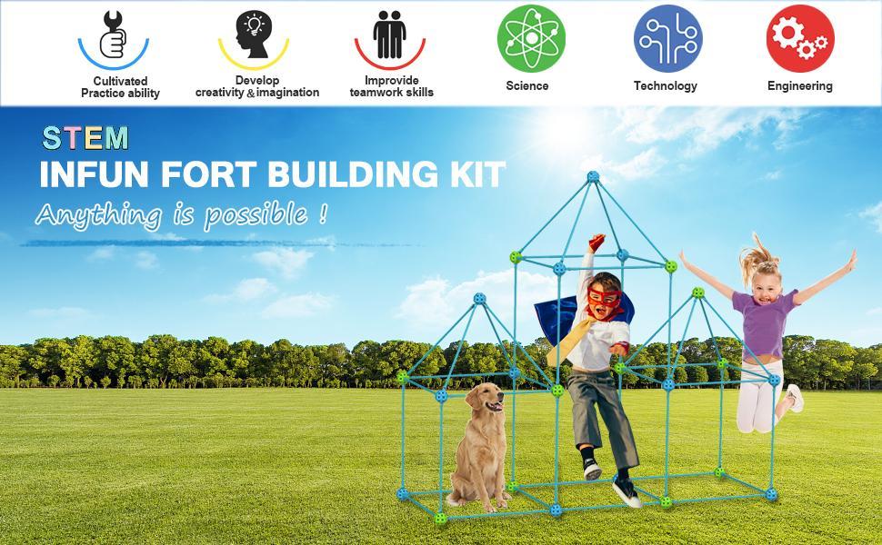 Fort building kit