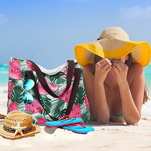 Große Strandtasche