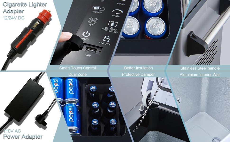 portable car fridge