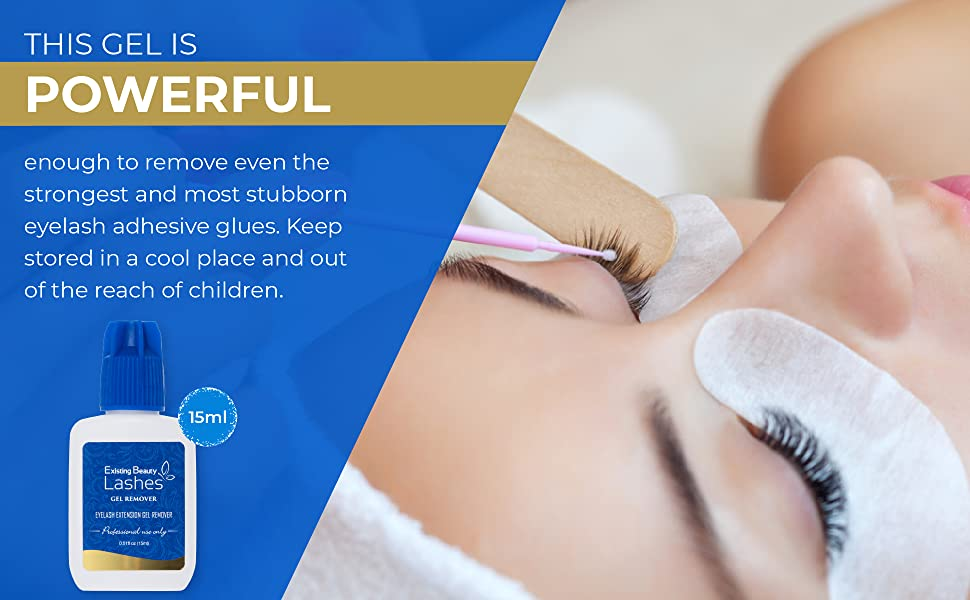 Existing Beauty Lashes, Gel Remover For Professional, Eyelash Extension Glue Removal