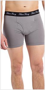fishers finery mens boxer brief modal cotton underwear