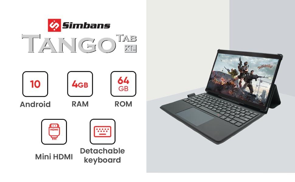 TangoTab 11.6 Inch Tablet