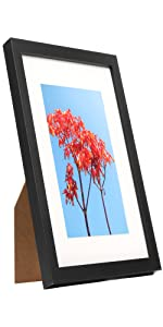 8x10 Table Top and Wall Wood Picture Frame