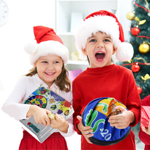 dart board Christmas decorations gifts for kids 3 4 5 6 7 8-12 boys girls party games dinosaur theme