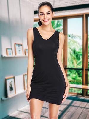 seamless strapless full body slip shaper for Under Dresses