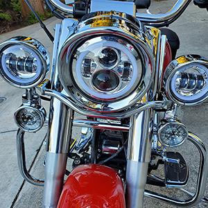 visor trim ring set