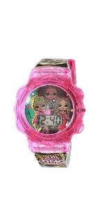 LOL Girls' Quartz Watch with Silicone Strap