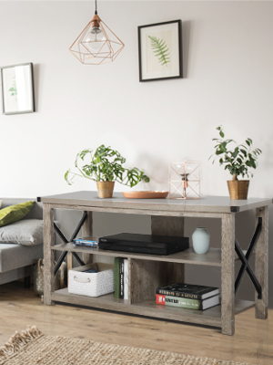 TV console table 02