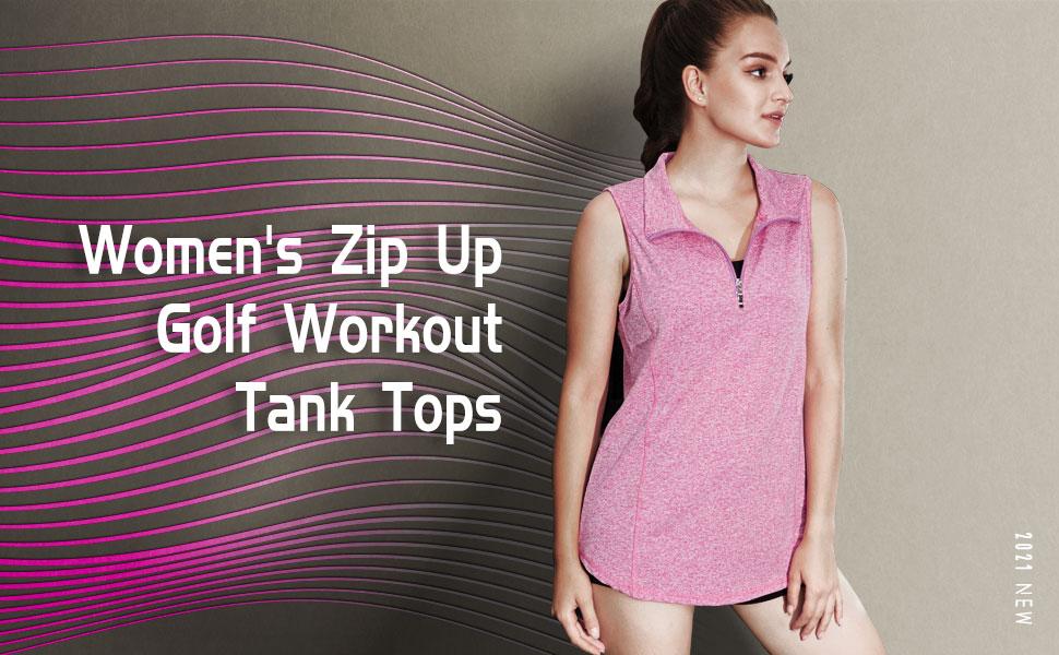 Golf tank tops for women