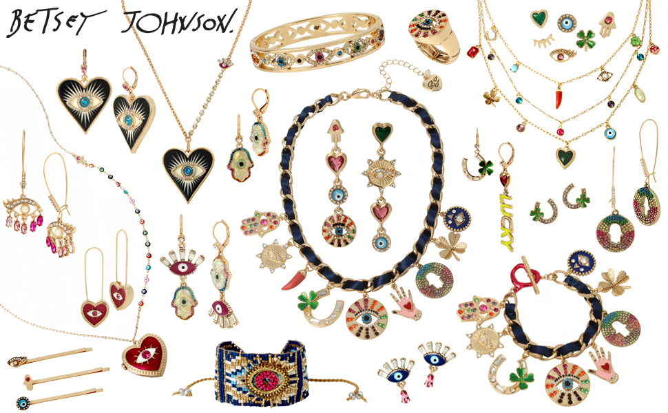 Betsey Johnson protect ya neck jewelry collection