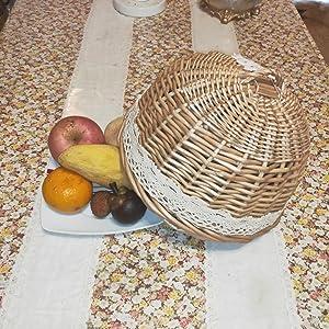 Fruit basket lid