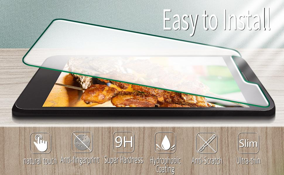 LG Rebel 4 LTE, Lml212vl Tempered Glass,LG Rebel 4 LTE, Lml212vl Glass Screen
