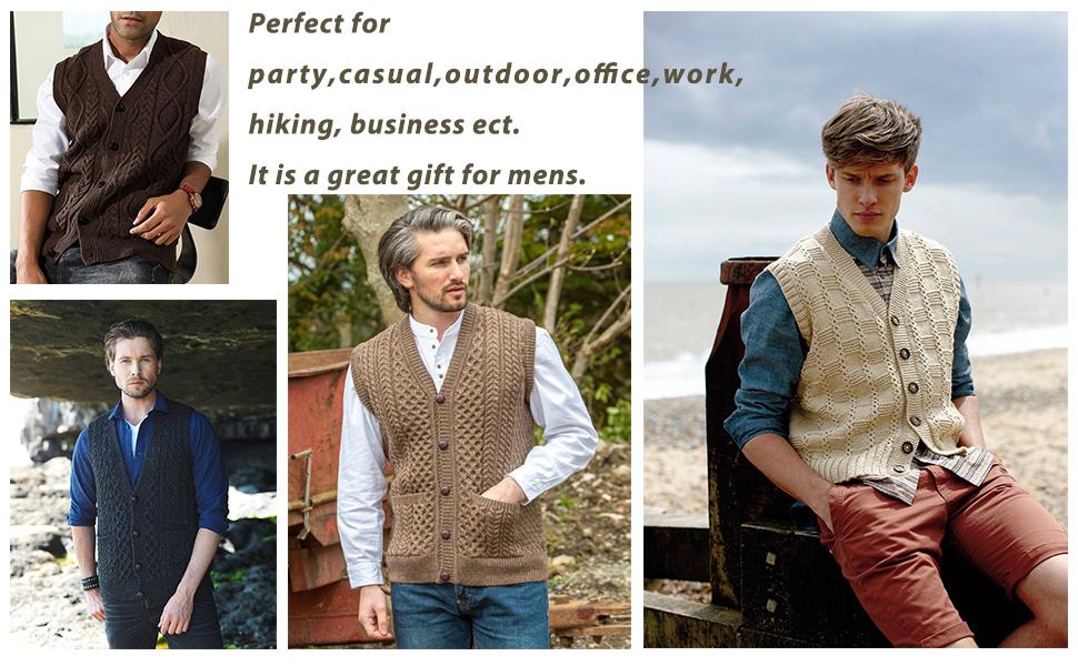 men fashion vest