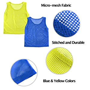Scrimmage Vests, Soccer Pinnies, Team Jersey, Training Vest, Soccer Scrimmage Vests, yellow jerseys