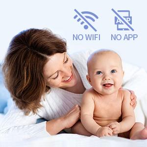 no wifi baby monitor