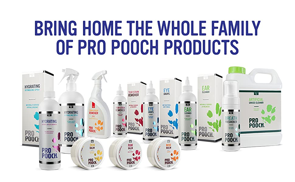 Bring Home the Whole Family of Pro Pooch Products