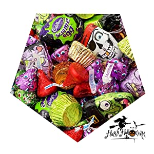 halloween candy assortment chocolate