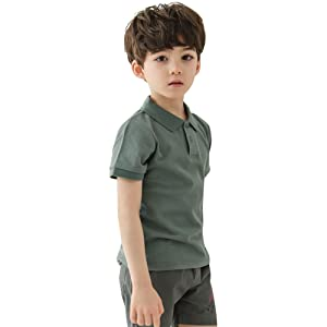 boys polo undershirts t shirt