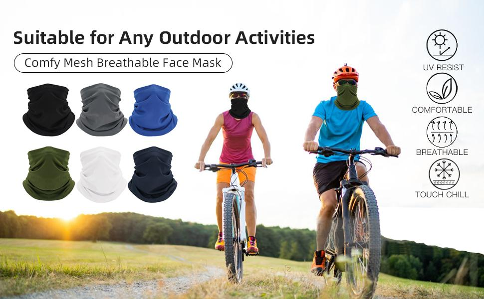 gaiters face mask