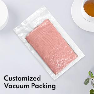 Vacuum-packed dish wipe rag