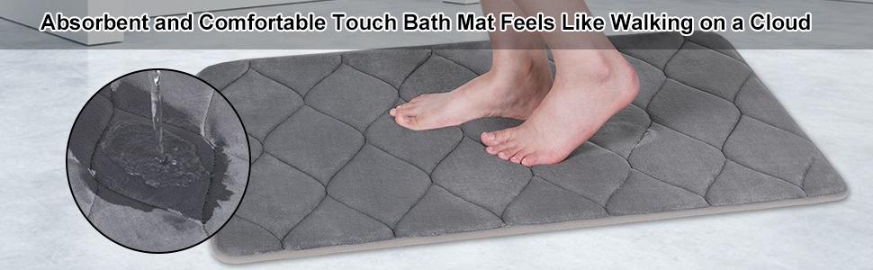 Water Absorbent Bathroom Rugs