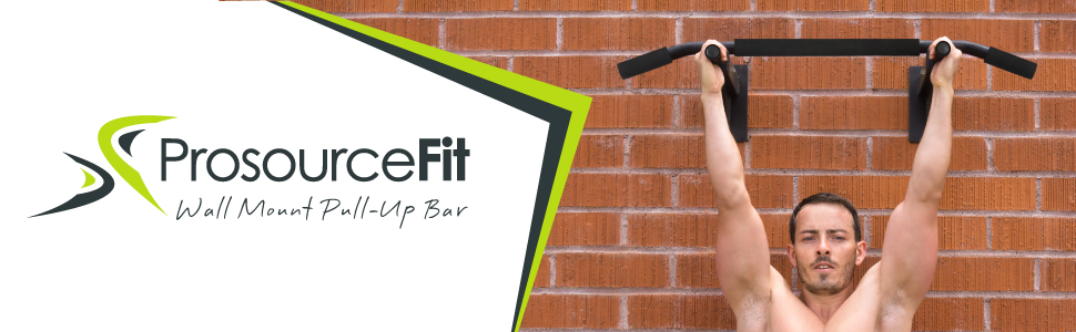 ProsourceFit Wall Mount Pull Up Bar