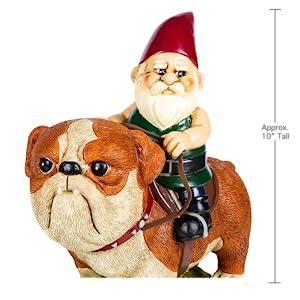 Garden Gnome Poodle Lawn Statue Figurine