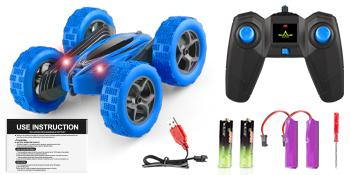 4WD 2.4Ghz Full Functional RC Stunt Car includes the parts