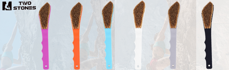 Colorful Bouldering Brushes