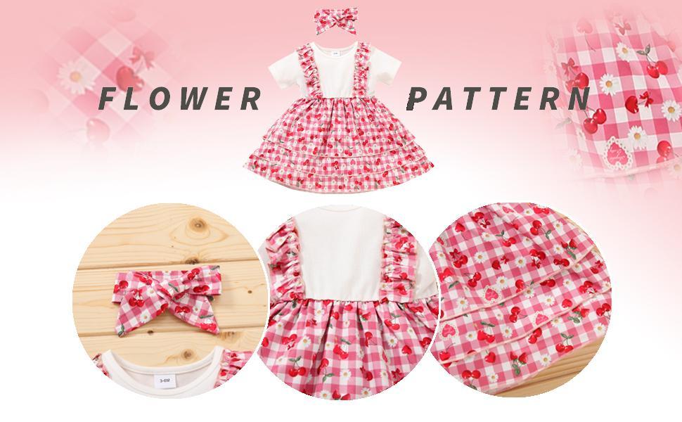 Toddler Girl Short Sleeve Princess Skirts