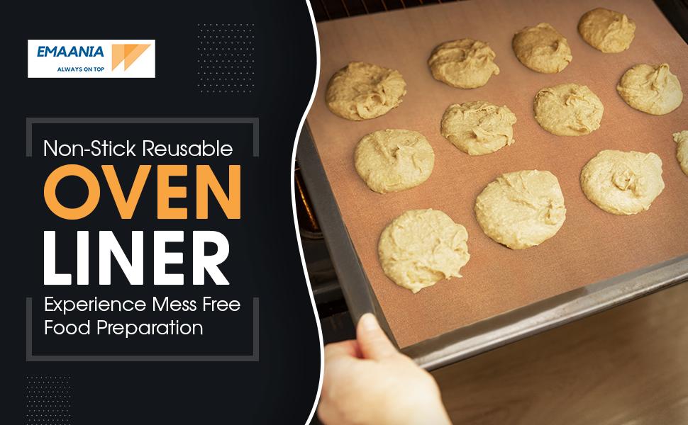 Non-Stick Reusable Oven liner
