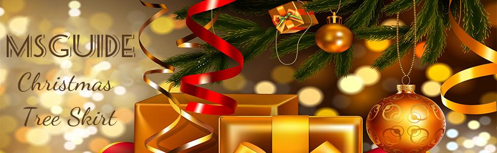 8 Inch Tassel Christmas Tree Skirt