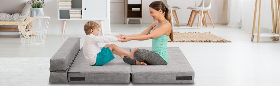 kids sofa bed for kids room, living room, play room