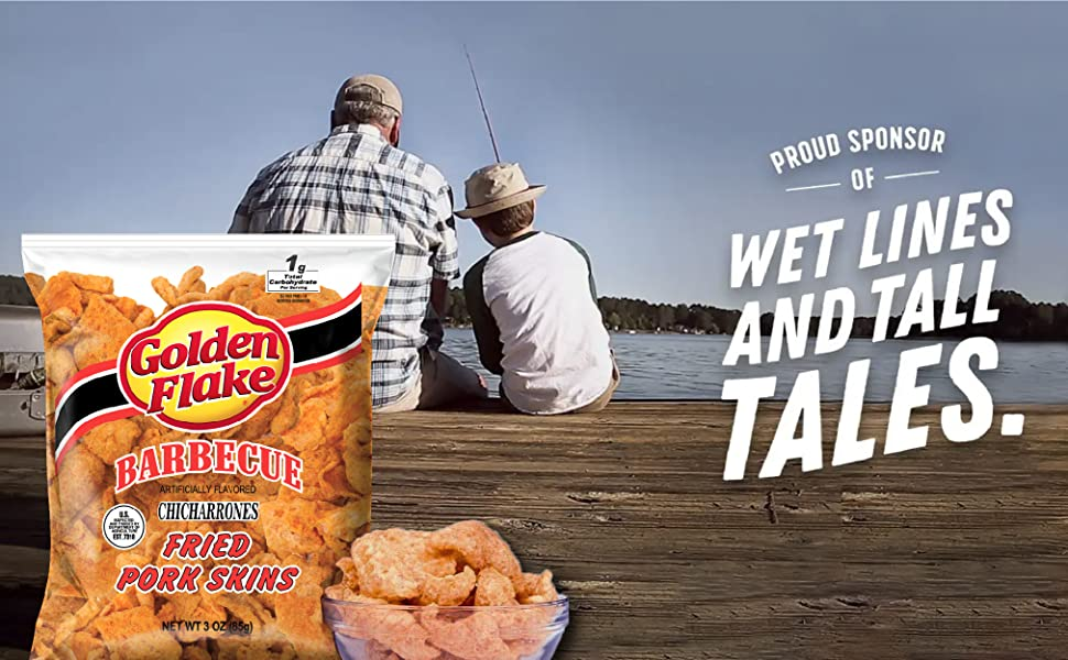 Proud sponsor of wet lines and tall tales.