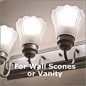 5w led bulbs for wall scones