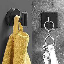 Robe hook&Adhesive hooks