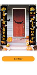 Halloween Banner Decorations Outdoor